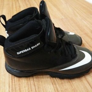 Superbad Shark Nike Cleats